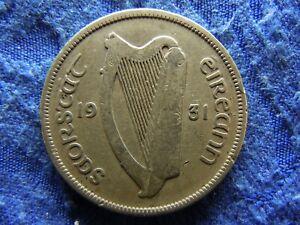 IRELAND FLORIN 1931, KM7