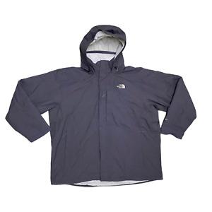 GENUINE HYVENT Mens Jacket Size UK 3XL Grey Hooded Anorak Windbreaker Coat