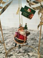 Kurt S Adler Santa Claus Christmas Tree Ornament 60 Years NWT