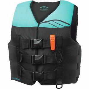 Slippery Hydro Womens Nylon Watersports Jacket Preserver Watercraft Life Vest
