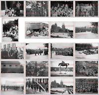 149 Stücke Altes Foto Zweiter Weltkrieg Deutschland Heer Soldat Panzer Armee pE