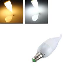 E14 3W White Warm LED Candela Flame Light Lampada a sospensione Bulb AC 220V