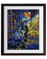 Dobby Harry Potter Always Van Gogh Starry Night Wall Decor Art Print A035