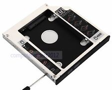 2nd HDD SSD Hard Drive SATA Caddy Adapter for HP Pavilion G62 G70 G71 G62-b45EM