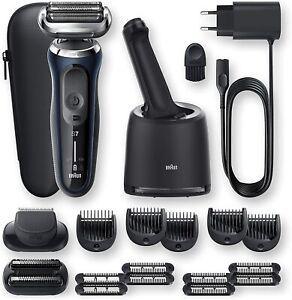 Braun Series 7 70-B7850cc Electric Foil Cleaning Smartcare 2 Accessories