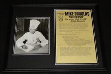IGA Chef Eddie Doucette ORIGINAL 1960s Framed 16x20 Mike Douglas Poster Display