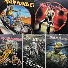 """Vintage"" Vtg 2007 Iron Maiden Band Tour Japan RARE Tee Lot -5 Piece Men Large"