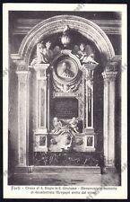 FORLÌ CITTÀ 68 MONUMENTO a GIAMBATTISTA MORGAGNI Cartolina