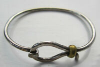 Vintage Mexico Sterling Silver Bangle