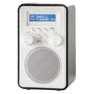 ***BRAND NEW*** Tesco Dark Wooden Tower DAB Digital FM Radio DR1502B