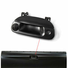 Tailgate Handle with Rear Reversing Backup Camera for Ford F150 1997-2003 Black