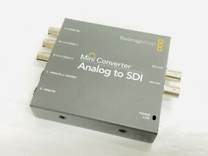 BlackMagicDesign Analog to SDI Mini Converter Box
