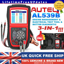 AUTEL AL539B EOBD2 Diagnostic Scanner Electrical System Test Car Code Reader UK