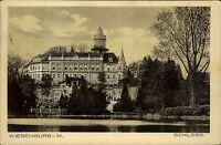 Wiesenburg Mark Brandenburg AK 1919 Schloss Palast als Bedarf nach Kyritz gel.