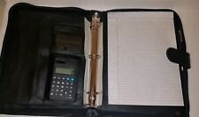 IHB Padfolio Portfolio PU Lether with Letter Size Writing Pad and calculator etc