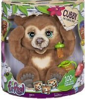 FurReal E4591 Cubby, The Curious Bear Interactive Plush Toy, Ages 4 & Up