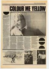 Yellowman Interview NME Cutting 1984