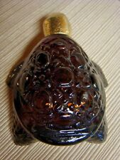 VINTAGE Brown Glass AVON TURTLE BOTTLE - Great Collectible