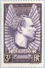 EBS France 1937 Jean Mermoz, Aviator YT 338 MH*