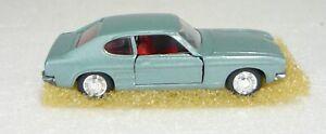 Schuco Modell 816, Ford Capri 1700 GT, hellblau metallic 1/66, NEU&OVP
