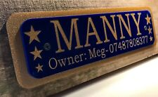 Personalised Tack Sign, Horse/Pony Name, Horses Plate Plaque for Gates/Barn Door