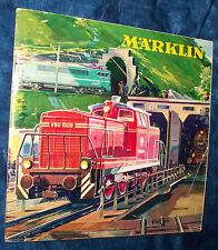 Märklin Catalogo 1963 D 1963/64 DM 63/64 senza voucher