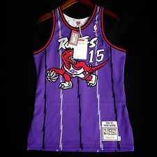 100% Authentic Vince Carter Mitchell & Ness Raptors Jersey Size 36 S Small