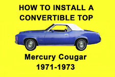 Mercury Cougar 71-73 How to Install a Convertible Top DIY Video on DVD