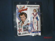 """Evel Knievel 8"""" Figure New Mint White Jumpsuit MIMP - Figures Toy Co. Mego Ideal"""