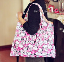 Super Cute Snoopy Peanuts Cloth Foldable Shopping Bag SHOPPER TOTE BAG Handbag