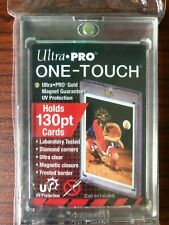 Ultra Pro 130pt Magnetic One Touch Collectible Trading Hard Card Holder 130 pt