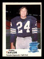 BOBBY TAYLOR 1970 O-PEE-CHEE CFL 1970 NO 11 EXMINT+ 22841