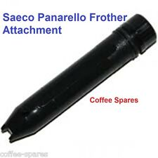 Saeco Panarello Black Milk Frother Attachment for Home Coffee Machines -see list
