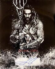 "Jason Momoa Aquaman 11x14"" Reprint Signed Poster #3 DC Comic Justice League RP"