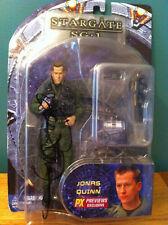 Autographed Stargate Sg1 Action Figure - Corin Nemec - Jonas Quinn - Double Sig