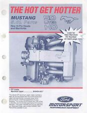 1992 Ford Mustang 5 Litre High Performance Brochure  wk978-OR4U4U