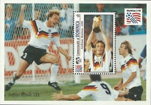 Dominica 1993 - Sports World Cup Soccer Championships USA 94 - Sc 1611 MNH