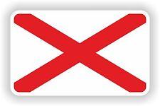 Alabama Bandera del estado de adhesivo para parachoques Laptop Guitarra Skate Casco Truck Puerta