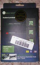 IO Crest 2 Port SATA III PCI-Express x1 Card (SY-PEX40039)