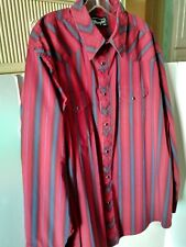 Wrangler Men's XXL Western Shirt/Long Sleeve/Snap Button Front/Sleeves/Pre-Owned