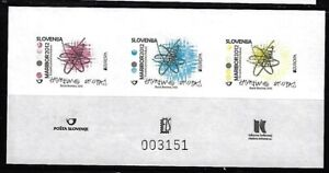 Slovenia: 2012; Scott 940, color proof, essay, in sheet of 3 stamps, EBSV04