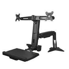 StarTech ARMSTSCP2 Sit Stand Dual Monitor Arm