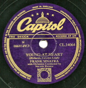 Classique Frank Sinatra 78 Young At Heart / Take A Chance GB Capitol CL14064 E V