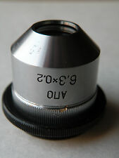 LOMO objective  APO  6,3x 0,2 Fluor + adapter RMS- M27 microscope ZEISS