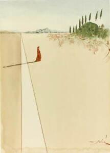 Salvador Dali Alighieri Dante. Giclee Art Paper Print Poster Reproduction