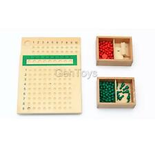 Wooden Montessori Maths Educational Material - Multiply & Divide
