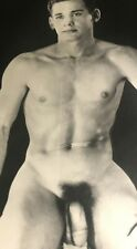 "VINTAGE 8X10"" BEEFCAKE PHOTOGRAPH YOUNG HANDSOME NUDE STUDIO MODEL GAY INTEREST"