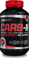BIOTECH USA CARB-X 120 TABLETS DIETARY FIBRES GREEN COFFEE BEAN EXTRACT CHROMIUM