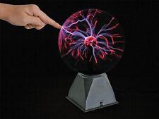 LAMPE PLASMA MAGIQUE EFFET FOUDRE ECLAIRS 20cm REAGIT AU TOUCHER SON ET MUSIQUE