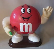 Vintage 90s M&M´s Dispenser Spender M&M Rot 1991